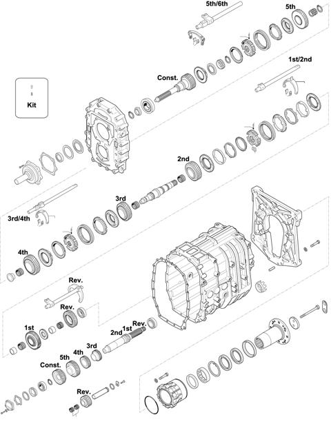 ZF Transmissions 1310 - 6S 1250