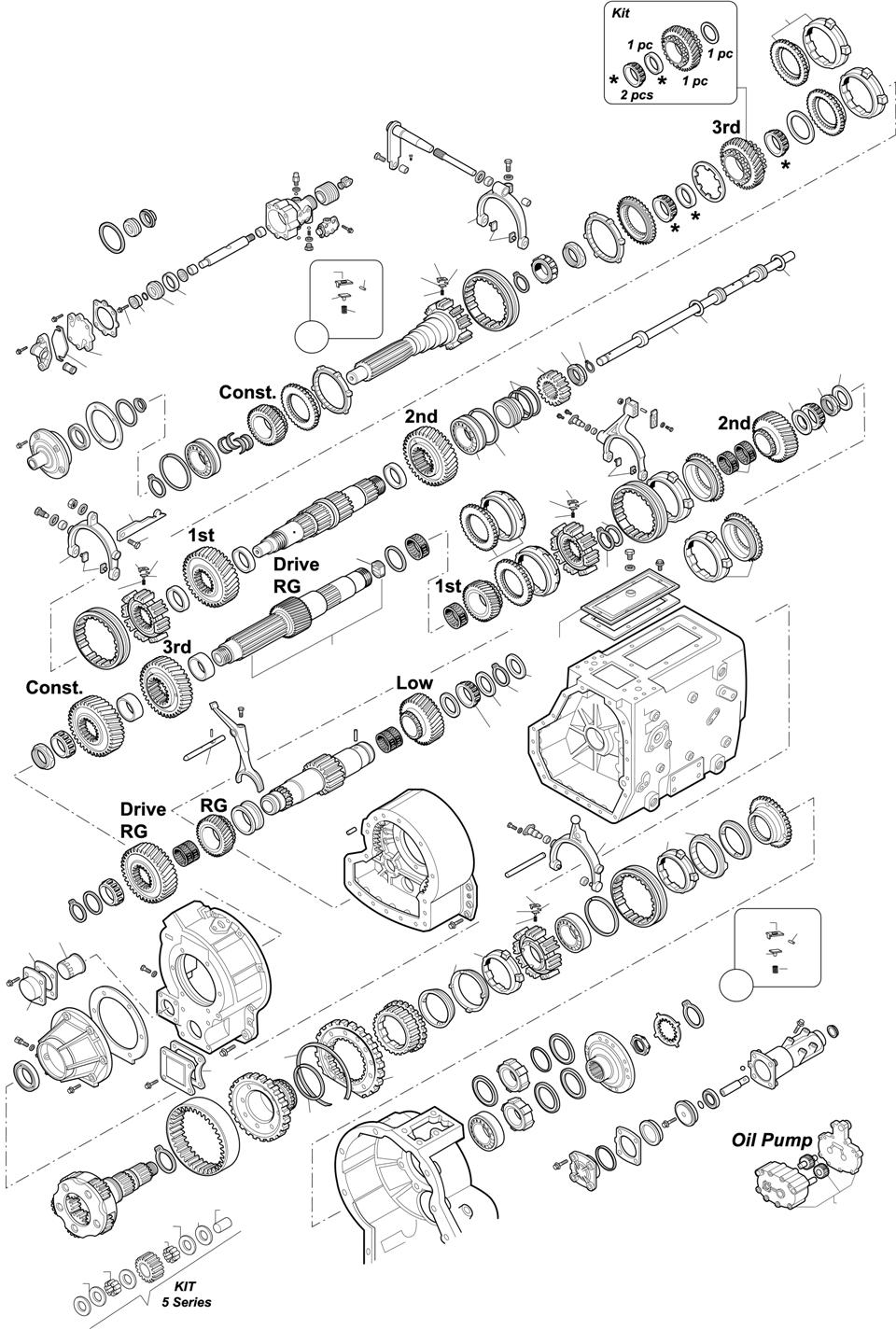 GEARBOXES: SR2000 F16 - FH16