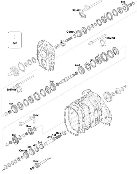 ZF Transmissions 1349 - 6S 1601 BD IT