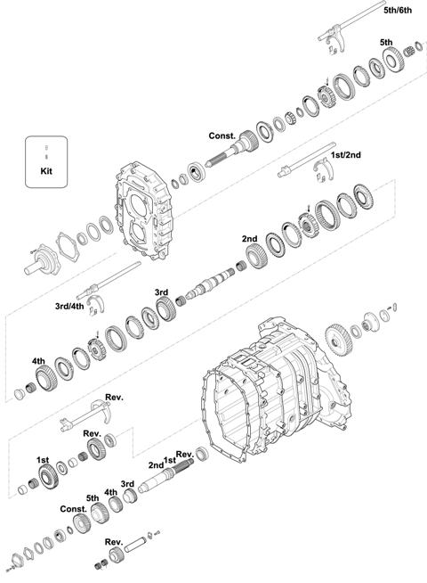 ZF Transmissions 1349 - 6S 1901 BO IT