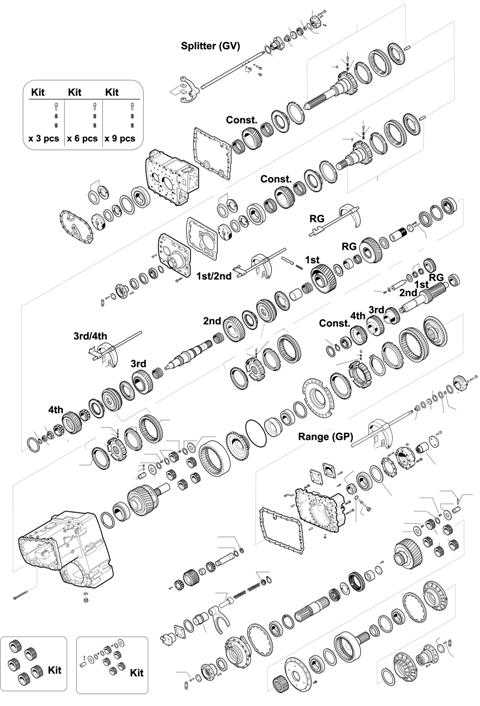 ZF Transmissions 1297 - 16S160A