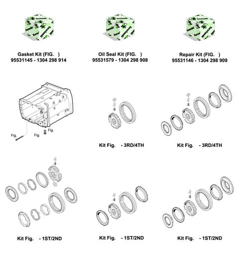 ZF Transmissions 1304 - 8S109 - KITS - MISCELLANEOUS - SYNCHRONIZER KITS