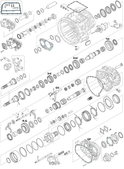 ZF Transmissions 1336 - 12 AS 1220 TD