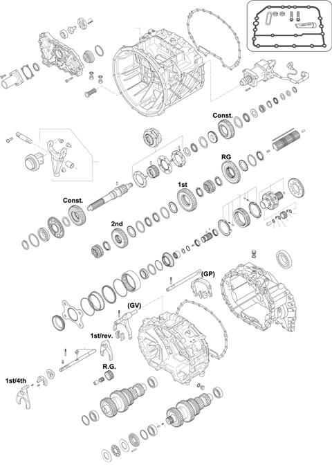 ZF Transmissions 1348 - 12 AS 1601 BO IT