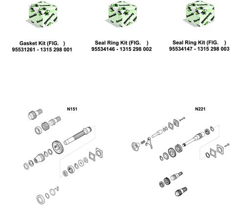 ZF Transmissions 1316 - 16S251 - KITS - P.T.O. (POWER TAKE OFF)