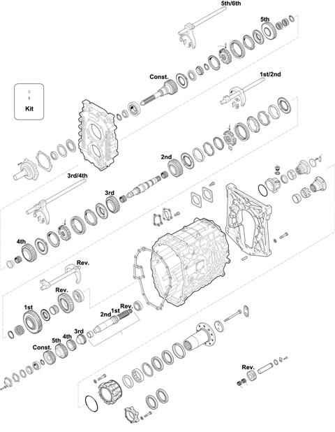 ZF Transmissions 1350 - 6S 1000 BD