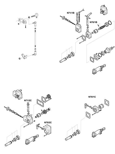 ZF Transmissions 1296 - 16S112 - SELECTOR MECHANISM - P.T.O. (POWER TAKE OFF)