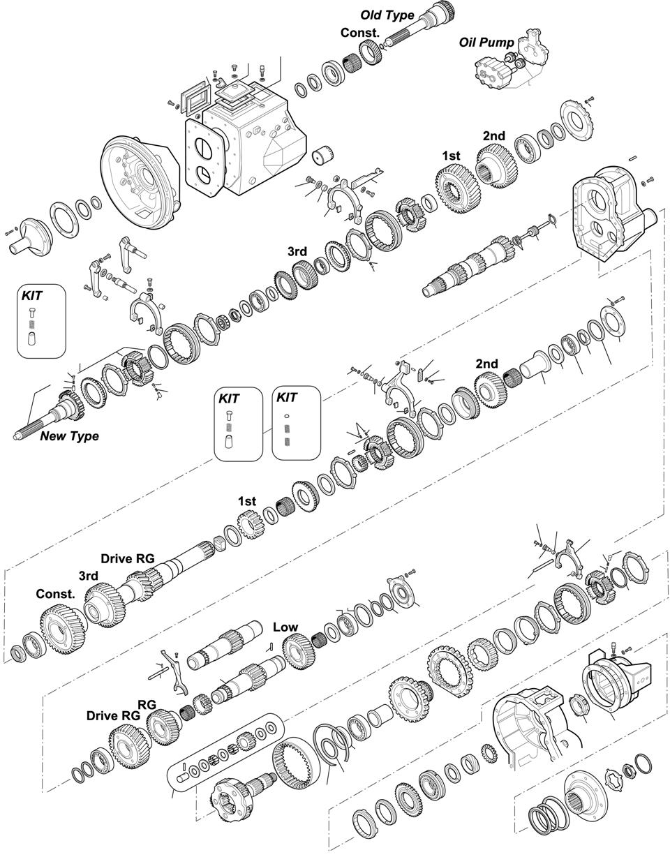 GEARBOXES: SR71 F12 - N12