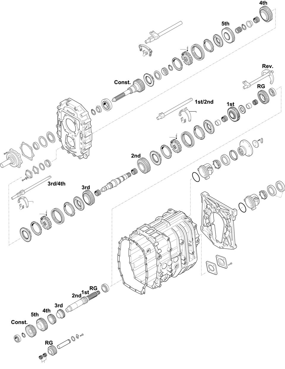 GEARBOX: 6S1600 Bus B9R