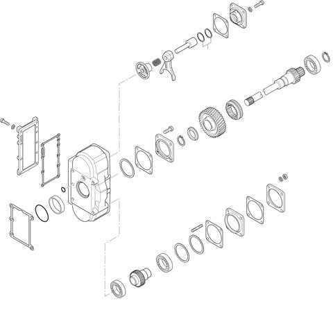 ZF Transmissions 1367 - 16 S 2235 TO P.T.O. (POWER TAKE OFF) N221/10c