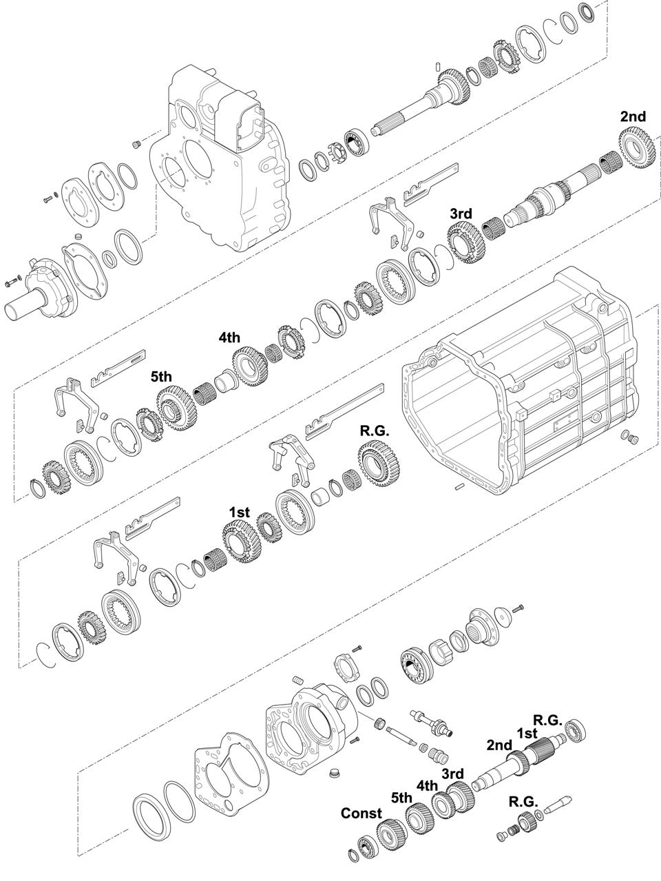For Gearbox Series: 714.622-667 GO4/130-6/7,18 CHASSIS: 356.XXX - 600.XXX DUSES CHASSIS: 615/616/617/619/621/624/650/651/652/653/654/655/656 MK and SK CHASSIS: 676.XXX - 677.XXX LK
