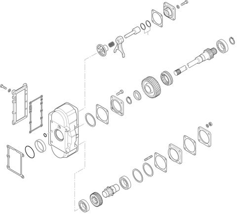 ZF Transmissions 1355 - 16 S 1835 TO P.T.O. (POWER TAKE OFF) N221/10c