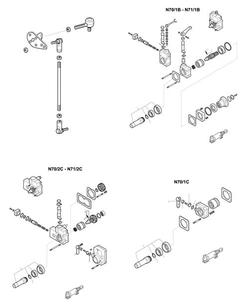 ZF Transmissions 1297 - 16S160 - SELECTOR MECHANISM - P.T.O. (POWER TAKE OFF)