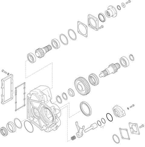 ZF Transmissions 1346 - 6S 1005 TO - P.T.O. (POWER TAKE OFF) NL 10 B
