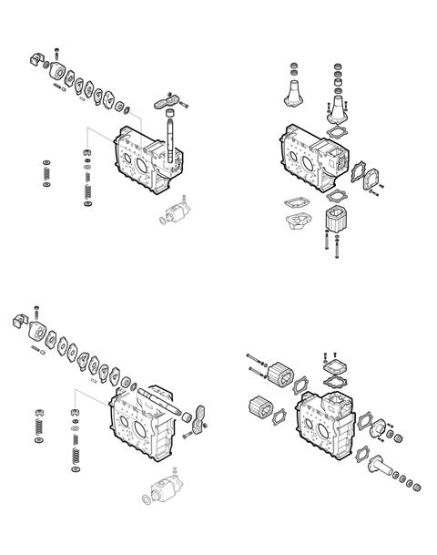 ZF Transmissions 1297 - 16S160 - SELECTOR MECHANISM