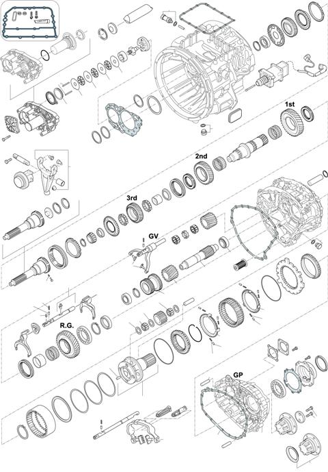 ZF Transmissions 1336 - 12 AS 1210 TO