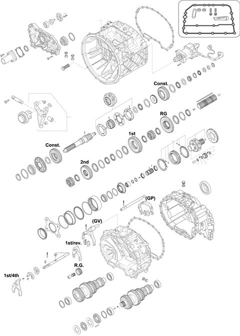 ZF Transmissions 1337 - 10 AS 2010 B IT