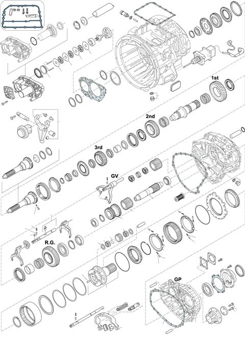 ZF Transmissions 1336 - 12 AS 1420 TO